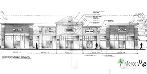 strip mall floor plans strip mall on broad street hopewell considers revised