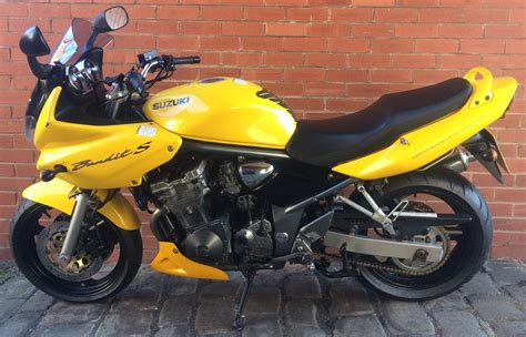 Yellow Suzuki Manhattan Motorcycles Ltd Suzuki Gsf600sk3 Yellow