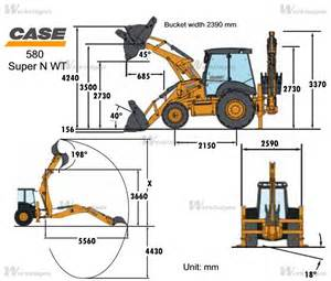 case 580 specifications submited images