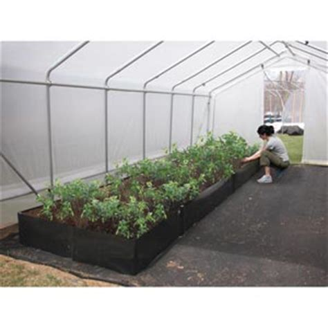 fabric raised garden beds 12 quot h commercial fabric raised beds farmtek