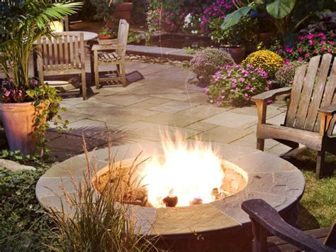 the best fire pit solutions for your backyard hgtv
