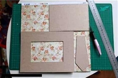 cara membuat kerajinan tangan pigura dari kardus cara membuat kerajinan tangan unik membuat pigura dari kain 2