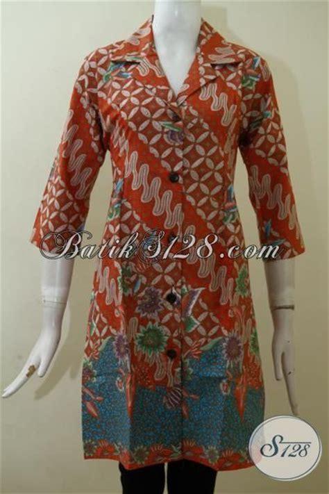 desain dress online jual pakaian batik wanita model dress busana batik modern