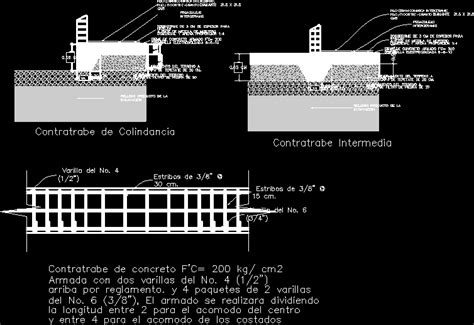 structural shoes  foundation slab dwg plan  autocad