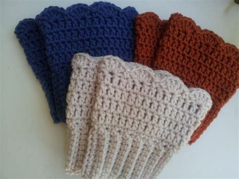 crochet pattern for boot cuffs 39 all free crochet boot cuffs patterns patterns hub