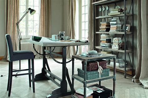 home office design ideas uk elegant industrial home office ideas furniture design decorating houseandgarden co uk