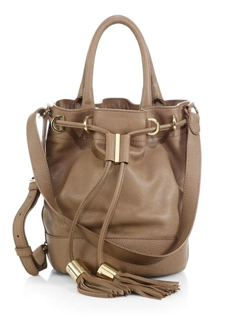 chloe vicki handcarry bucket bag  strap