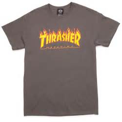 Home gt apparel gt t shirts gt thrasher gt thrasher flame t shirt