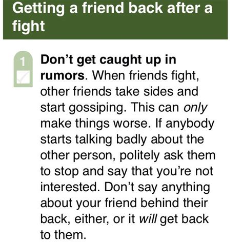 6 ways to get your 6 ways to get your best friend back after a fight
