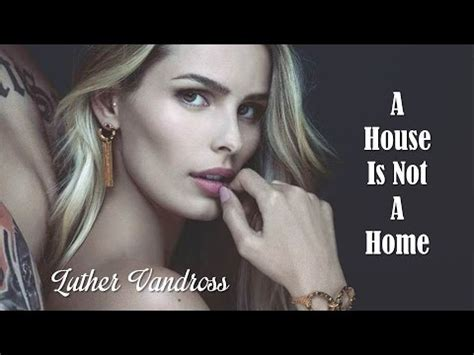luther vandross a house is not a home live
