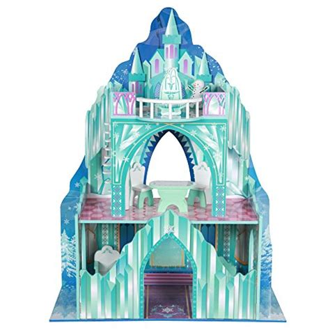 frozen doll house barbie frozen dollhouse kid design castle anna elsa playhouse ice mansion wooden ebay