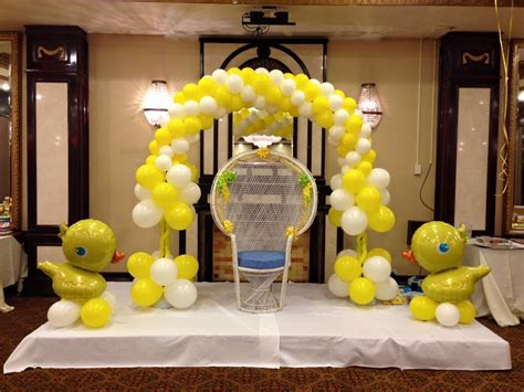 Balloon Arch Decorations For Baby Shower by Deco Baby Shower Balloon