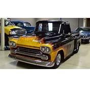 1958 Chevrolet Apache Hot Rod Pickup Big Block  YouTube