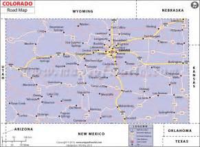 colorado road map with cities colorado road map highways in colorado