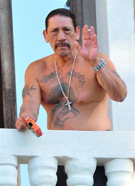 tattoo of us danny danny trejo photos photos danny trejo having a cigarette