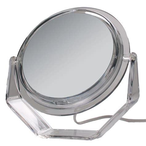 zadro lighted makeup mirror zadro surround light 7x vanity mirror in acrylic ss37