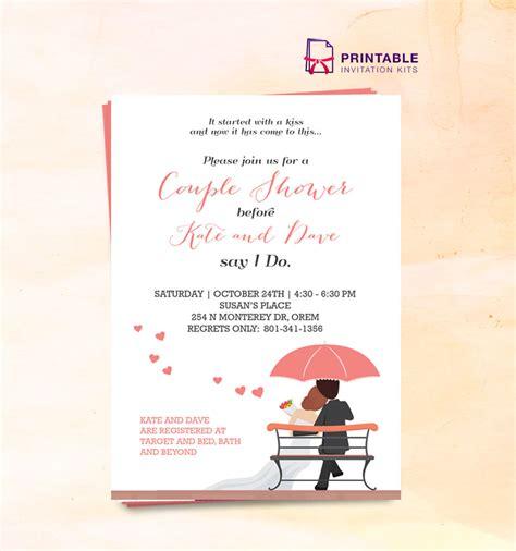 couples bridal shower 2016 2016 shower wedding invitation template wedding invitation templates printable