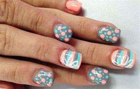 imagenes de uñas pintadas en colores dise 241 os de u 241 as en colores u 241 asdecoradas club