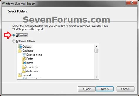 windows 10 live mail tutorial windows live mail export and import email messages