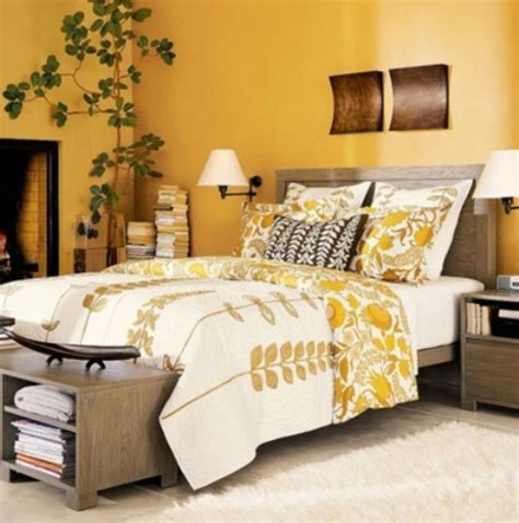yellow and brown bedroom stylish bedroom design ideas with yellow colors and