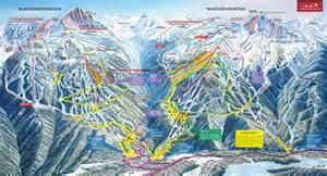 canada ski map ski map whistler blackcomb canada