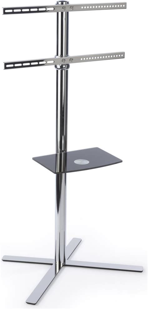 Bracket Tv Floor Stand stainless steel television floor stand holds 32 60