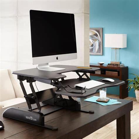 versa stand up desk standing desk pro plus 36 varidesk 174