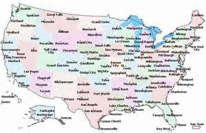 map of u s cities map travel holidaymapq