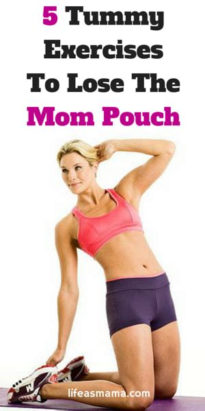 tummy exercises  lose  mom pouch family man tummy workout exercise baby workout