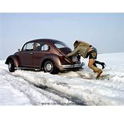 Car Stuck With 3 Girls In The Snow