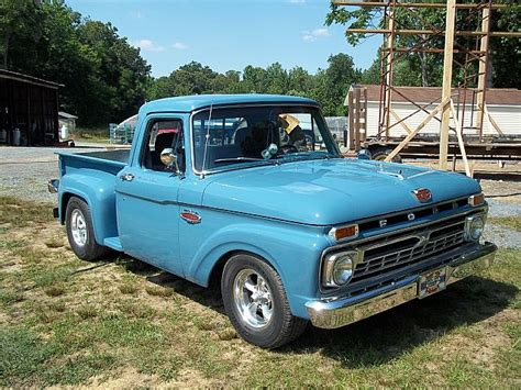 1966 ford f100 stepside ford 60 up custom cab stepside autos post
