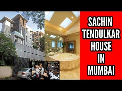 sachin tendulkar house interior video sachin house in mumbai youtube