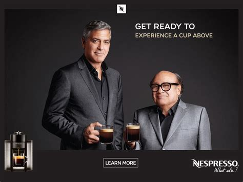 nespresso commercial actress with danny devito where s my jetpack smug thy name is nespresso