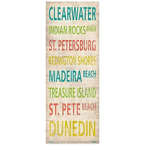 bed bath and beyond clearwater fl clearwater quot canvas wall art bed bath beyond