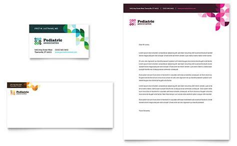 pediatric business card templates letterhead templates business letterhead designs