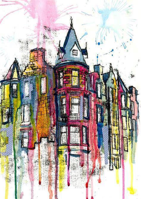 arts building edimburgo imaginado 20 ilustraciones de la ciudad