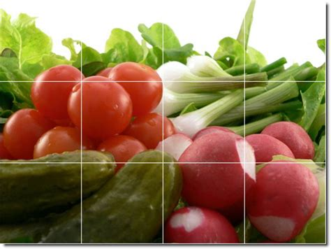 kitchen tiles with fruit design fruits vegetables picture kitchen wall mural floor design