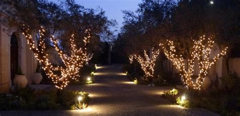 installation of fairy lights in trees 10 outdoor lighting ideas to buy or diy