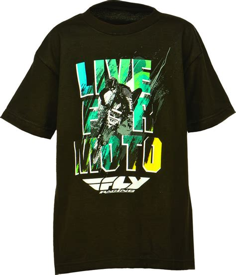 T Shirt 00928 Fly Rider fly racing toddler boys live for moto t shirt ebay