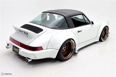 1991 porsche 911 turbo rwb tuner tuesday 1991 porsche 911 targa rauh welt begriff