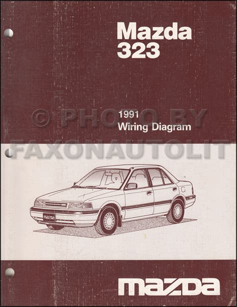 1991 mazda 323 original repair shop manual 91 ebay 1991 mazda 323 and protege repair shop manual original