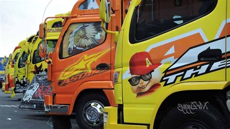 mobil mitsubishi fuso gambar modifikasi mobil mitsubishi canter luar biasa