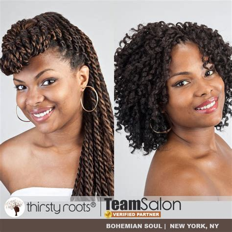 Thirsty Roots Hairstyles by Thirsty Roots Team Salon Bohemian Soul Thirstyroots