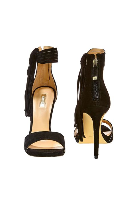 Guess Collection 3 3 Cm Type guess sandales a talon guess aida noir femme chaussures