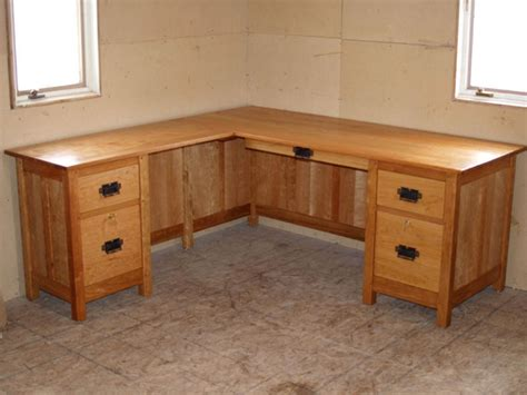 custom corner desk branch hill joinery