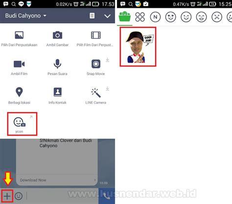 aplikasi membuat stiker line cara membuat stiker line memakai foto wajah sendiri