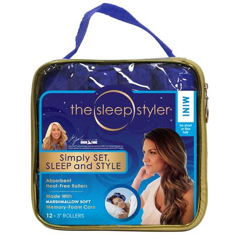 And Hair Styler As Seen On Tv by As Seen On Tv Sleep Styler For Hair