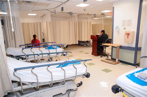 bronx lebanon hospital emergency room cardiac catheterization area and er expansion completed bronx lebanon health system