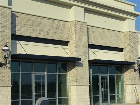 business awning metal business awnings 502 634 1877 bluegrass awning company