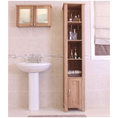 Belfry Bathroom Milan 32 X 182cm Mirrored Free Standing Bathroom Storage Ebay